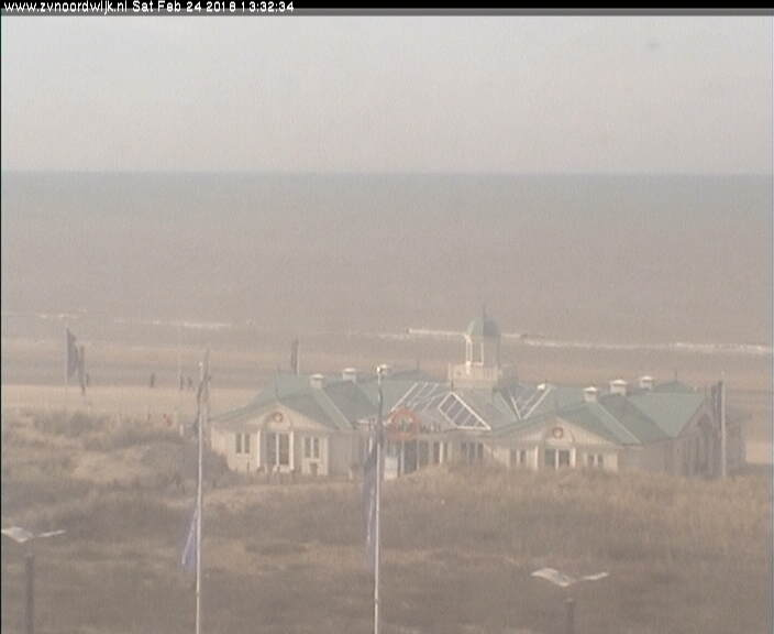 Webcam Noordwijk, strandtent Club O